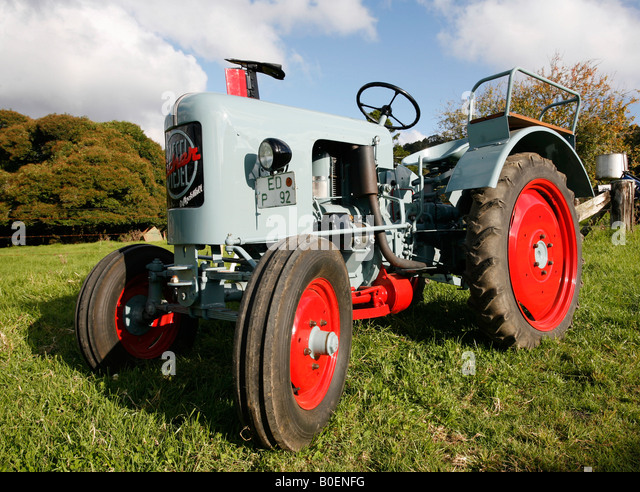 Old Cylinder Tractor : Rare farm machinery stock photos