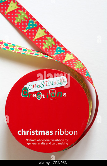 fucking christmas ribbon for making cards