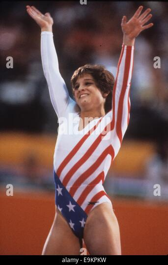 Exaggerate. Mary lou retton right!