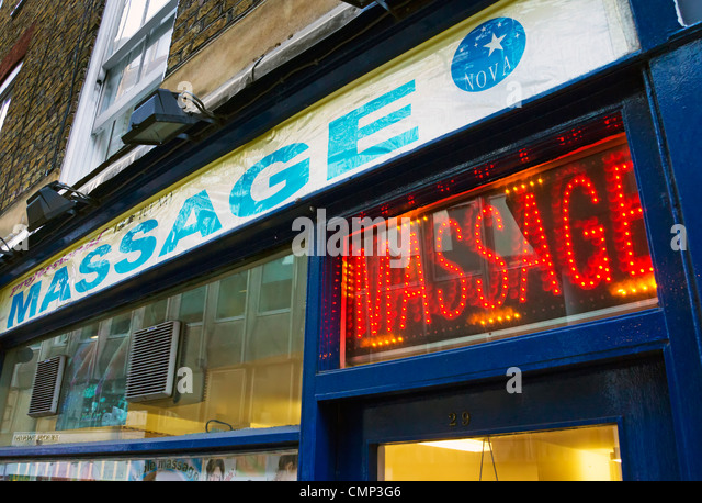 Massage Parlour Sign Stock Photos & Massage Parlour Sign Stock ...