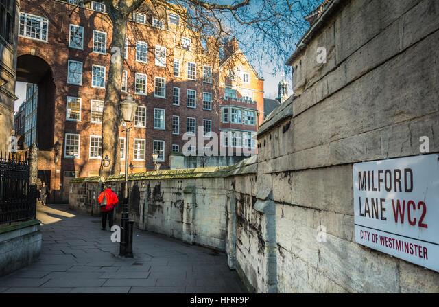London Wc2 Stock Photo...