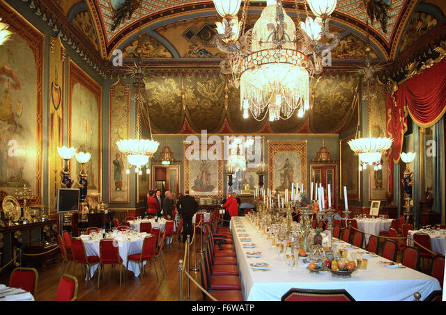 brighton royal pavilion interior stock photos brighton