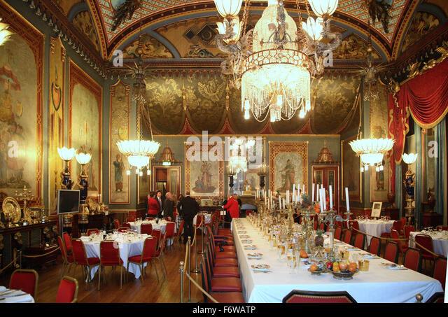 Victorian Dining Room Uk Stock Photos & Victorian Dining Room Uk ...