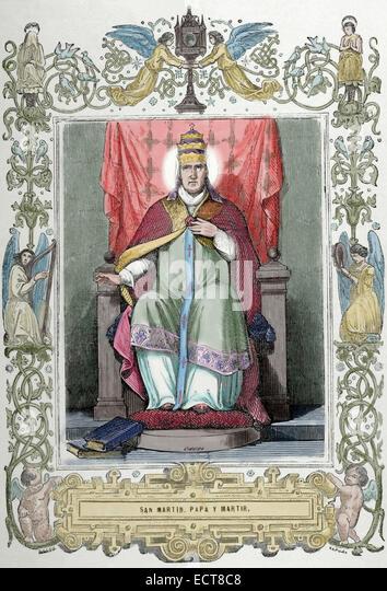 Resultado de imagen para San Martín I (649-655)