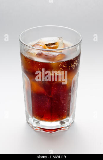Glass of coke stock photos glass of coke stock images for White rum with coke