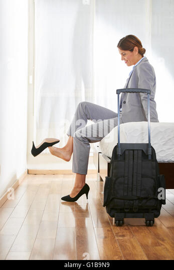 take off your shoe stock photos & take off your shoe stock images