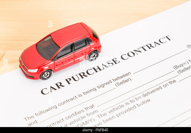 purchase agreement car