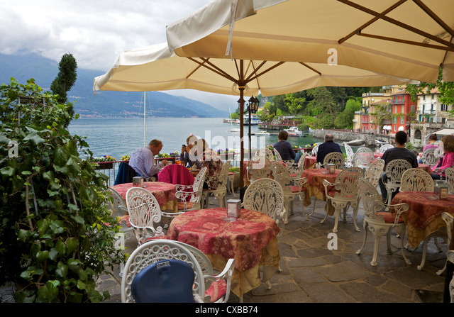 lake como italy cafe stock photos amp lake como italy cafe