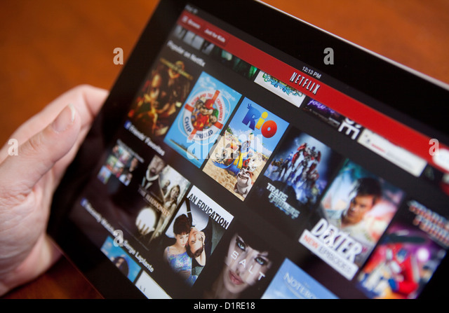 how to change netflix to american on ipad