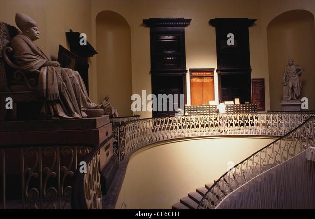 Stairs Interior Of Asiatic Library Bombay Mumbai Maharashtra India
