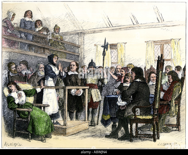the background of the sale witch trials of 1692 During the salem witch trials people were accusing others of being witches , especially kids the salem villagers were all christians, so they were afraid, because witches are said to be worshippers of the devil.