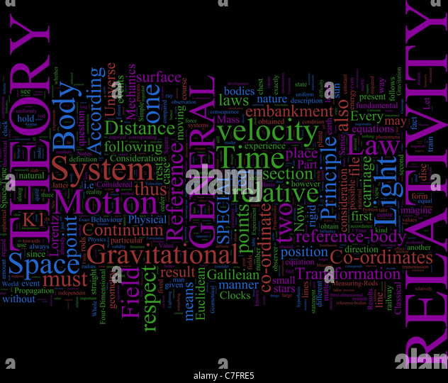 """einsteins theory of relativity basic essay The theory of relativity and other essays has 71 ratings and 3 reviews ron said: """"science is the attempt to make the chaotic diversity of our sense-expe."""