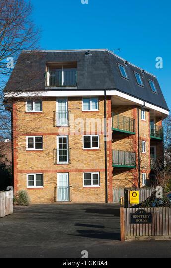 Mansard stock photos mansard stock images alamy for Modern mansard roof