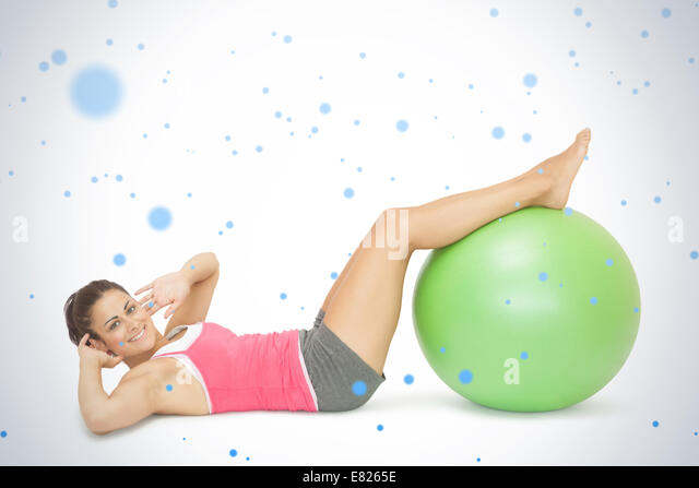 how to do sit ups on an exercise ball