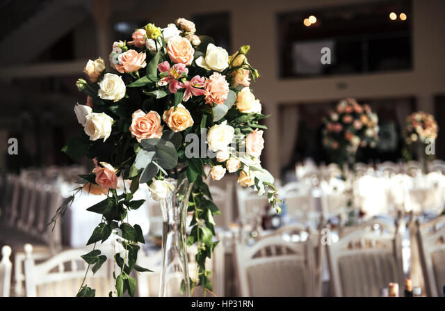 Decorated Tables decorated tables stock photos & decorated tables stock images - alamy