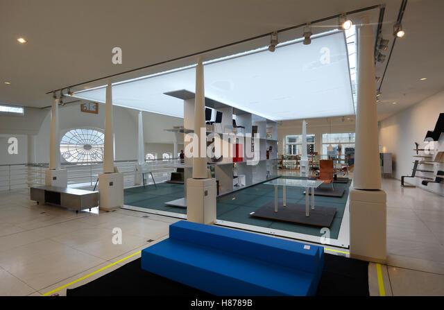 Belgium, Ghent (Gent), Interior Of The Design Museum, Furniture By Maarten