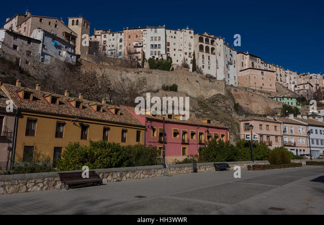 Cuenca, Spain   December 29, 2016: View To Hanging Houses U0027casas Colgadas