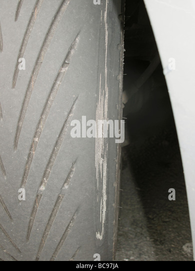 Bald Tyre Stock Photos Bald Tyre Stock Images Alamy