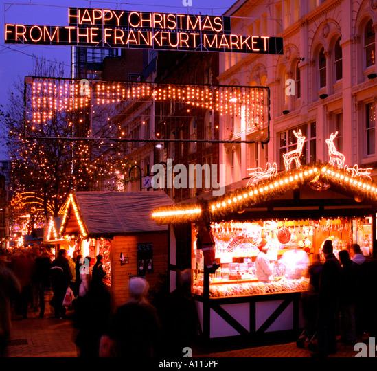 Birmingham New Street Night Stock Photos & Birmingham New