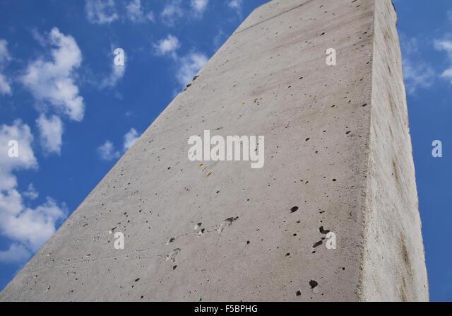 Concrete Block Foundation Stock Photos Concrete Block