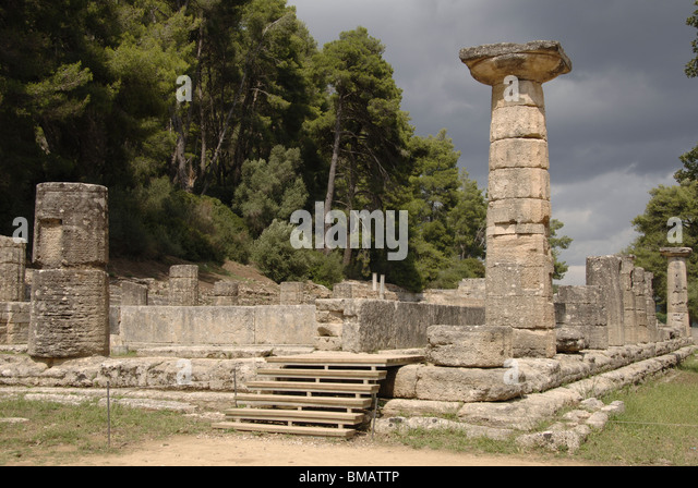 Temple Of Hera Stock Photos & Temple Of Hera Stock Images ...