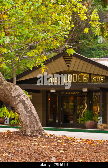 Inns lodges mountains national stock photos inns lodges for Big sur national park cabins