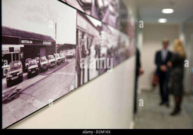modern car dealership stock photos modern car dealership. Black Bedroom Furniture Sets. Home Design Ideas