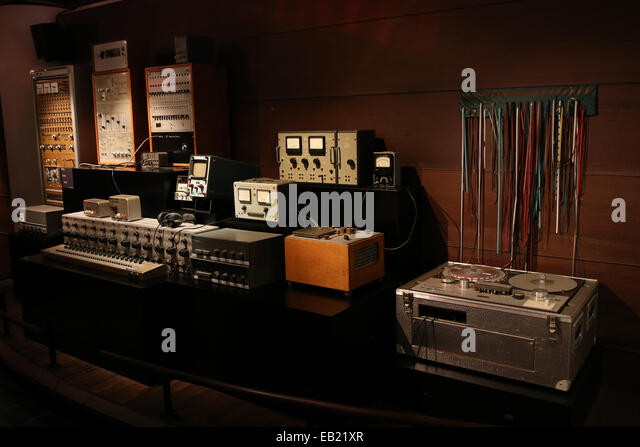 Astonishing Vintage Music Recording Room Equipment Stock Photos Vintage Largest Home Design Picture Inspirations Pitcheantrous