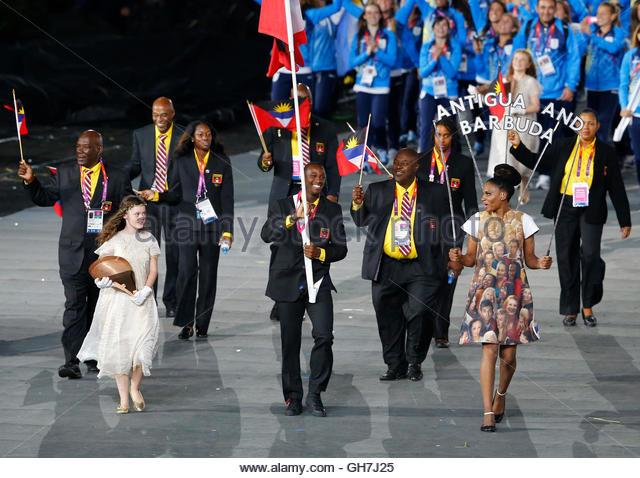 Antigua And Barbuda Flag Bearer