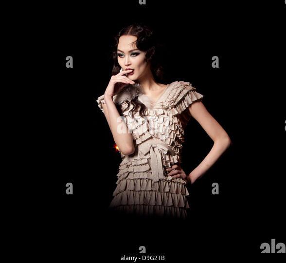 Model Catwalk Dior Stock Photos & Model Catwalk Dior Stock ...