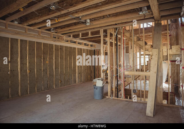 Ceiling Construction Wooden Carpentry Stock Photos & Ceiling ...