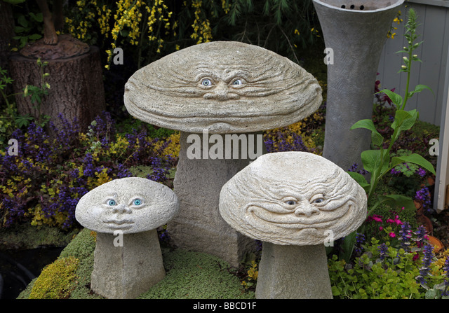 Stone Garden Ornaments Stock Photos Stone Garden Ornaments Stock