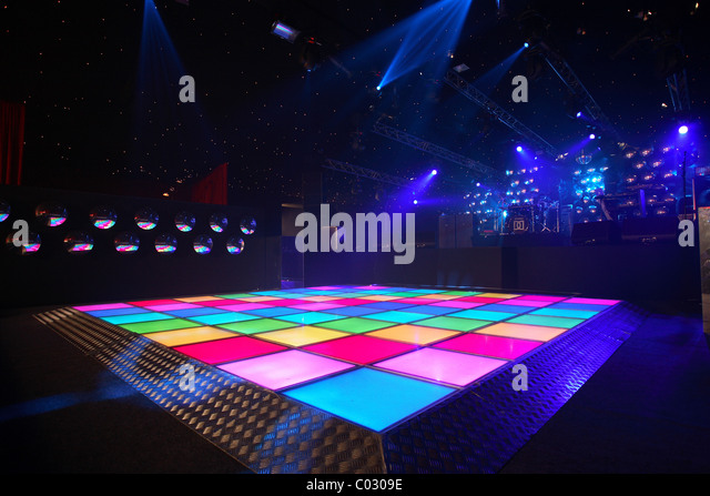 Bar & Nightclub Flooring Epoxy Floor Finish Concrete