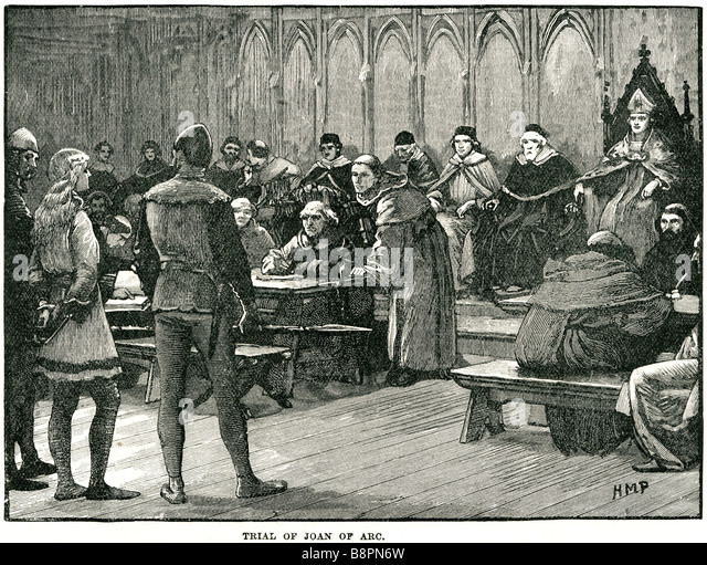 a history of the trial of jeanne darc or joan of arc the maid of orleans Last updated: jul 19, 2018 see article history alternative titles: la pucelle d' orléans, sainte jeanne d'arc, the maid of orléans  when the trial proper  began a day or so later, it took two days for joan to answer the 70 charges that  had.
