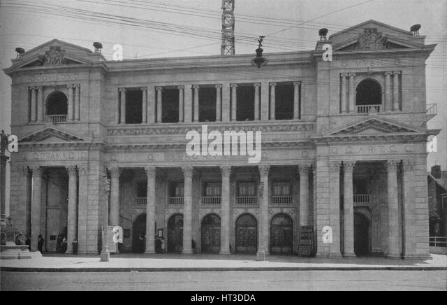Front Elevation Definition Theatre : Forum cinema stock photos images alamy