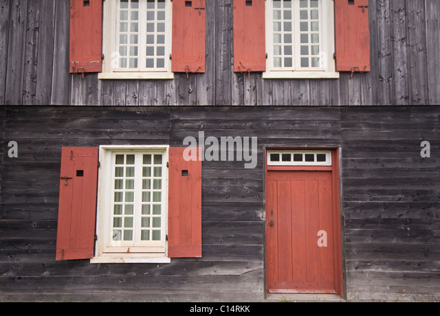 French canada 18th stock photos french canada 18th stock for 18th century window