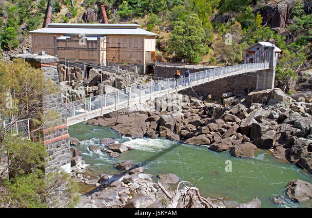 Duck Reach power station in Cataract Gorge - Stock Image