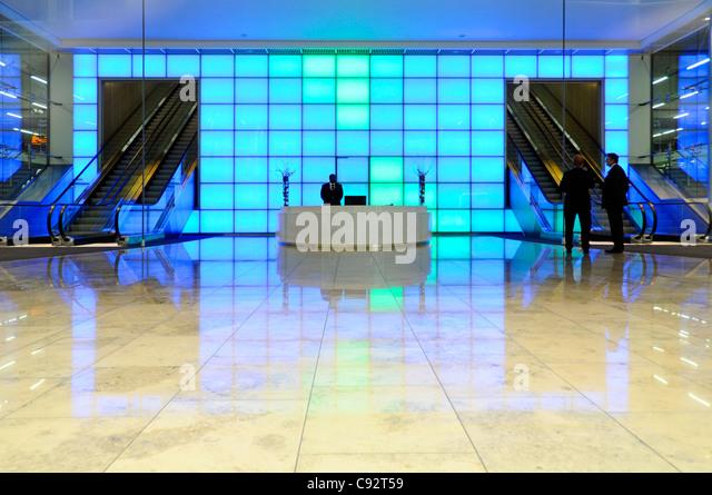 Foyer Office Uk : Inside office lighting uk stock photos