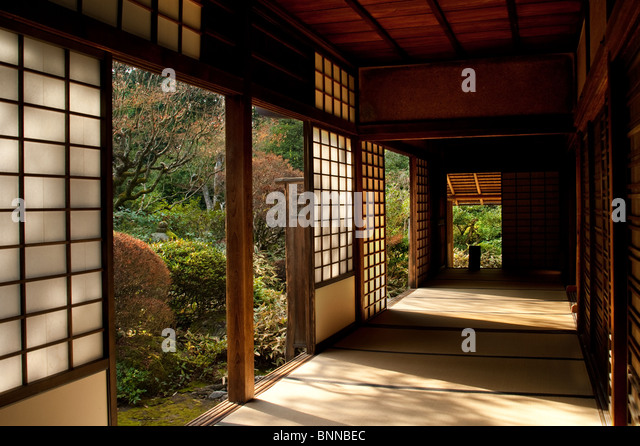 Japanese Traditional House Door Stock Photos Japanese