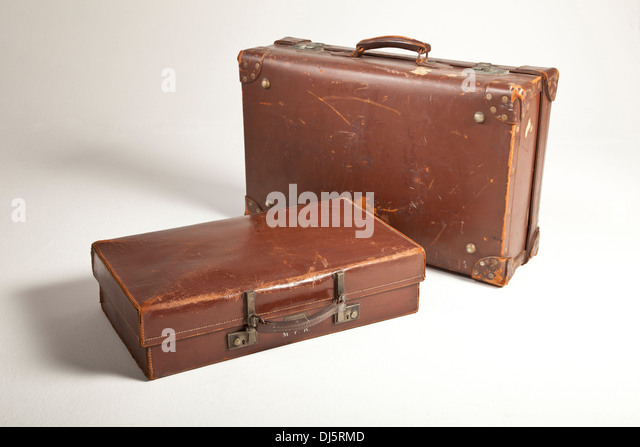 Traditional Leather Suitcases Stock Photos & Traditional Leather ...