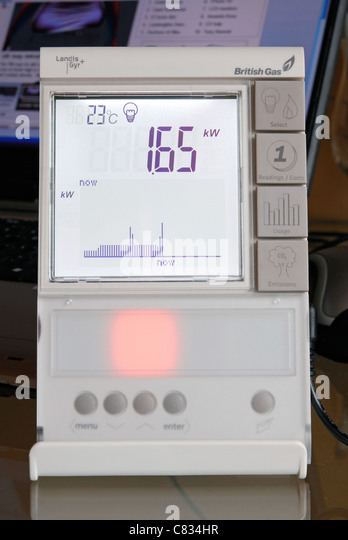how to read a smart electric meter british gas