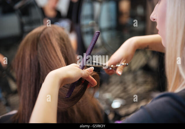 Hair saloon for women stock photos hair saloon for women for A1a facial salon equipment