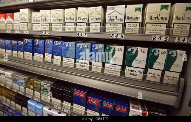 plain packaging on cigarettes is I went into sainsbury's to get some fags and my brand there windsor blue menthol was in plain packaging it was my first time actually getting.