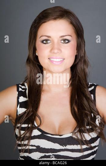 Stunning Brunette Teen