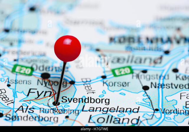 Geography Travel Denmark Svendborg City Stock Photos Geography