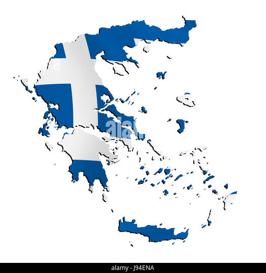 Map of greek world stock photos map of greek world stock images greece flag border outline atlas map of the world map gumiabroncs Gallery