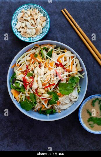 Papaya Salad Noodles Stock Photos & Papaya Salad Noodles Stock Images ...