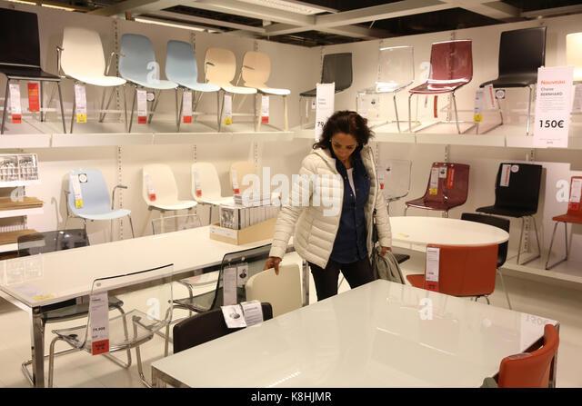 Ikea store interior stock photos ikea store interior stock images alamy - Ikea online shop france ...