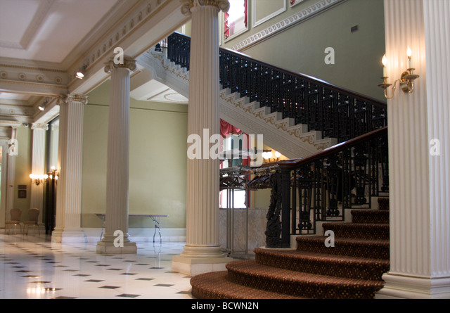 Mansion Foyer University : Twombly stock photos images alamy