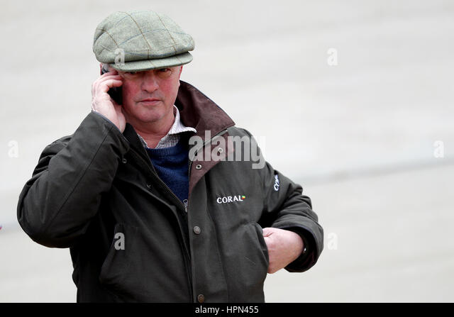 Trainer Colin Tizzard during a visit to his stable at Milborne Port,  Dorset. -